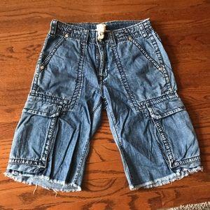 True Religion size 29 men's elastic shorts - $30